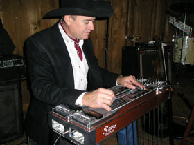 Gary Carpenter Wood grain Rains Steel Guitar