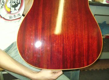 Gibson J45 Repaired Back