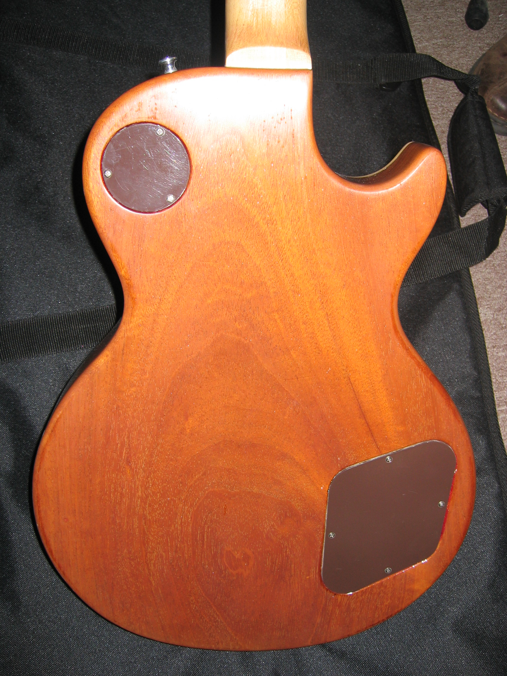 Les Paul Back Repair Luthier Fort Worth