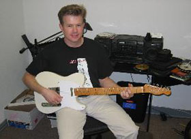 Sean Teaching on Telecaster Guitar
